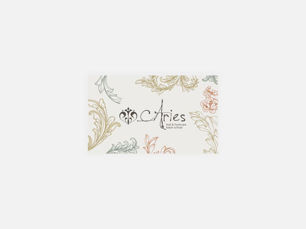 Aries ショップカード