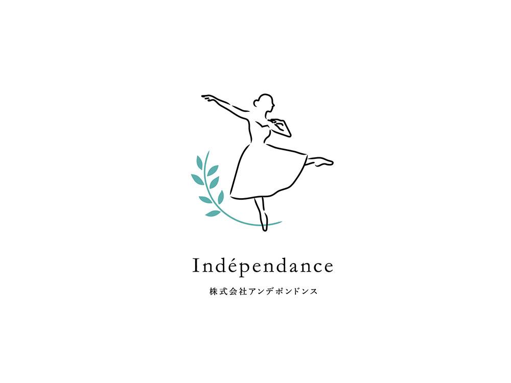 株式会社 アンデポンドンス ロゴ