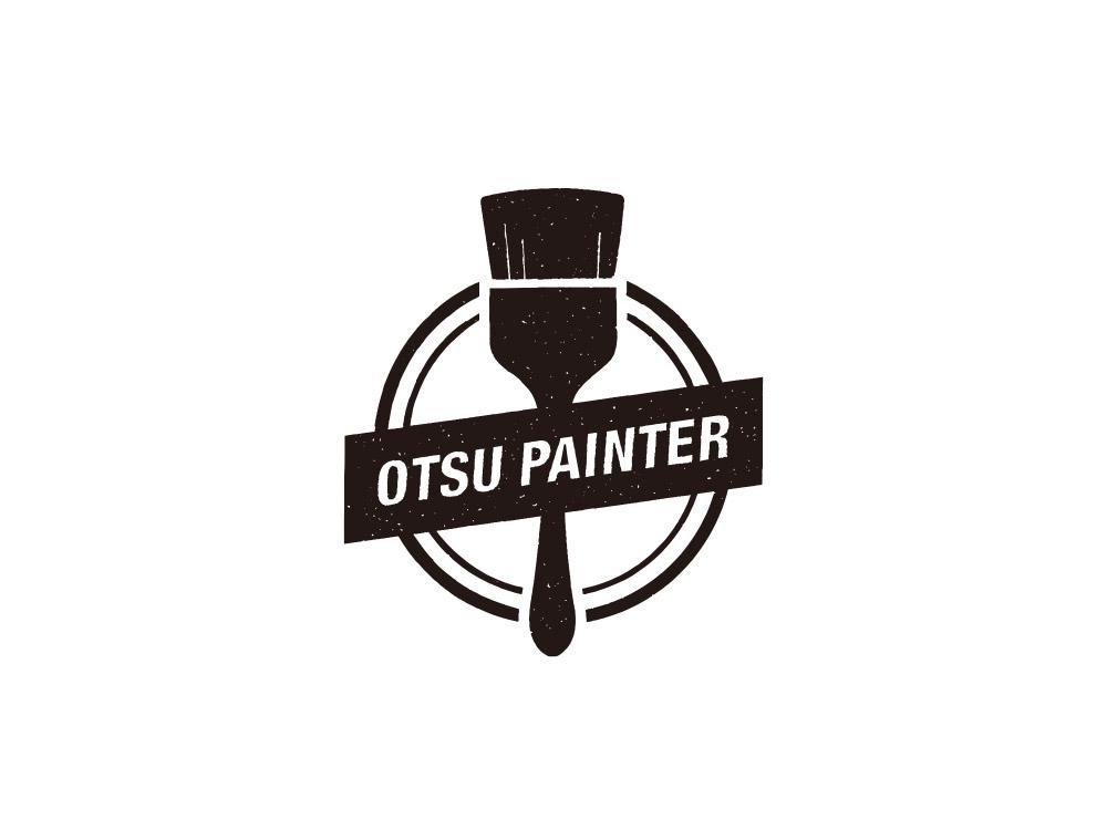 大津塗装 ロゴ